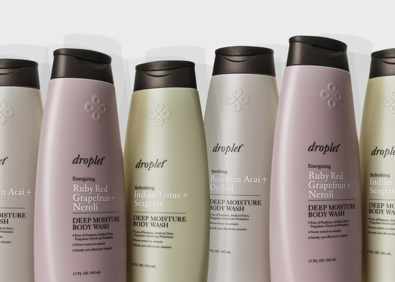 Droplet Body Washes